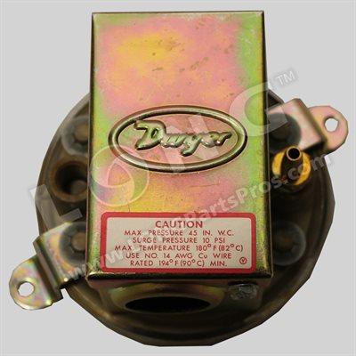 Dwyer Pressure Switch 0-5 IN W.C.
