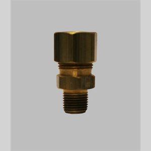 Schneider 3 / 8 X 1 / 8MPT Comp Adapter