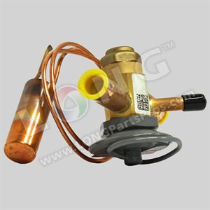"""Daikin Expansion Valve, 1.5T, 1 / 2""""in x 1 / 2""""Out, 90 PSIG, R410A 30"""" Cap, Non-Adj, 20% Bleed Port"""