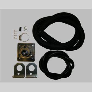 Nortec (Condair) Nozzle Duct Kit. Plastic nozzle, steam hose