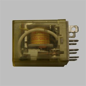Idec 2-Pole Lighted Relay,120VAC