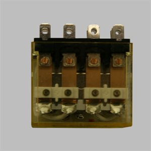 Idec 4 Pole LTD. Relay, 24VAC
