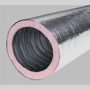 "06"" Sound Flexible Duct (25' Box)"
