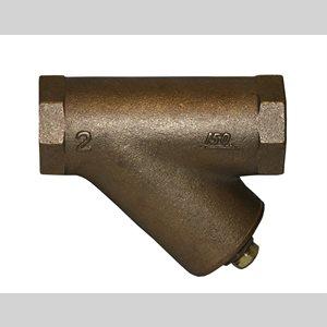 "1 / 2"" Y-Type Bronze Threaded Strainer"
